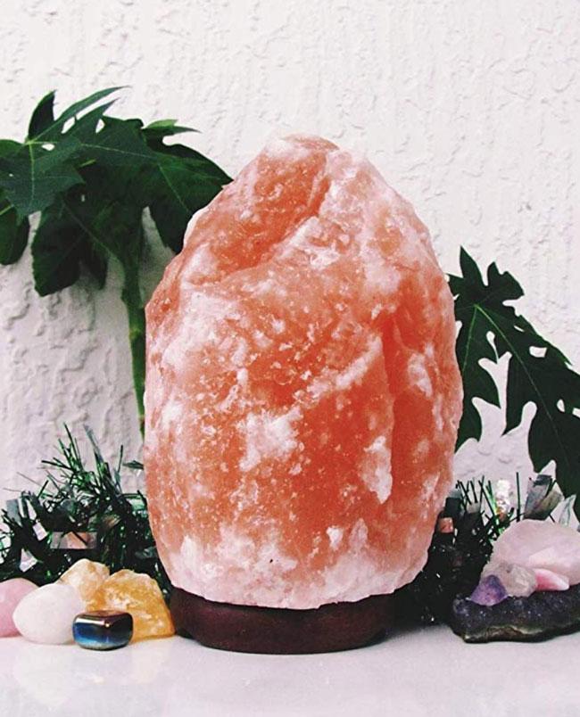 Rock Salt Lamp