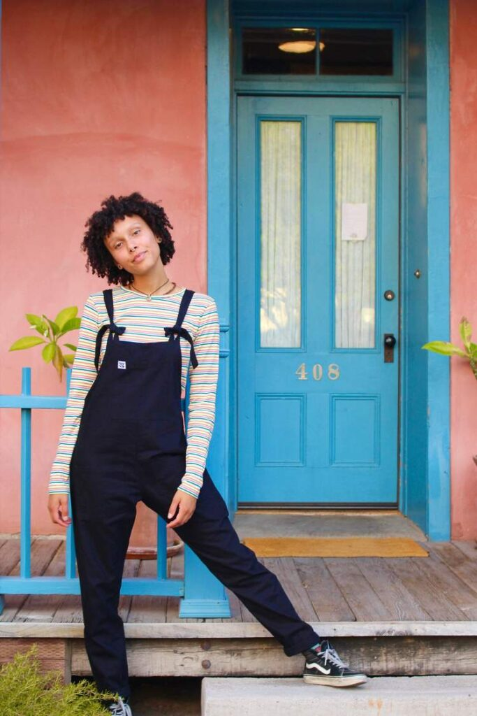 All I want for Christmas are these Lucy and Yak Dungarees