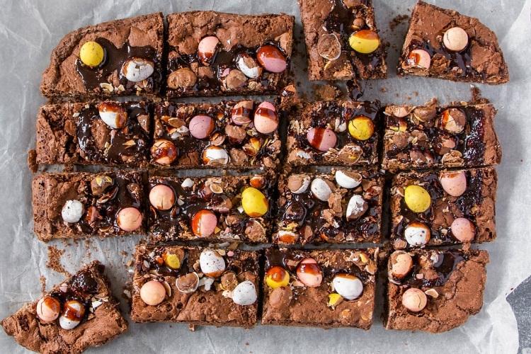Easter Egg Brownie Recipe