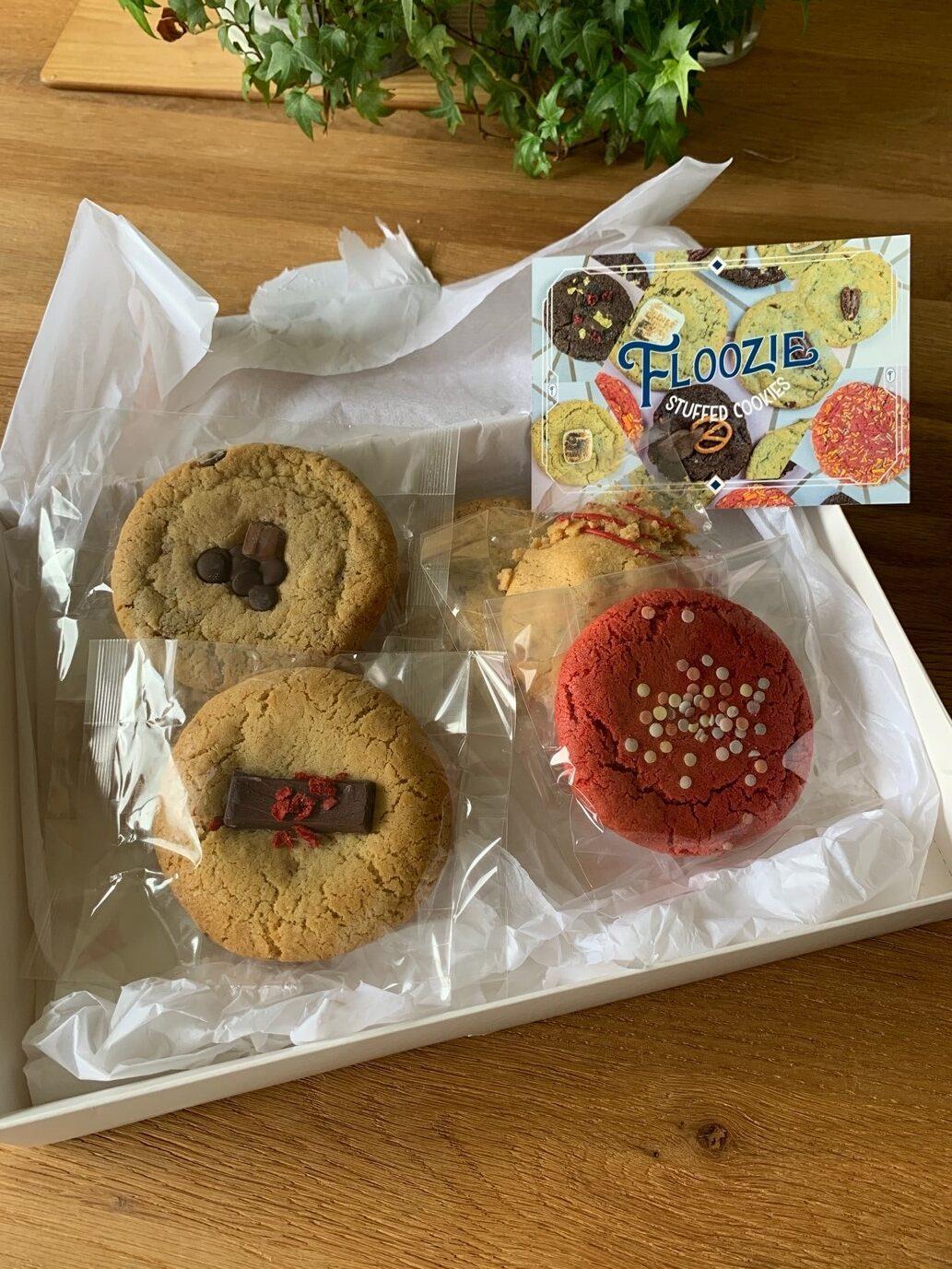 Floozie stuffed cookies