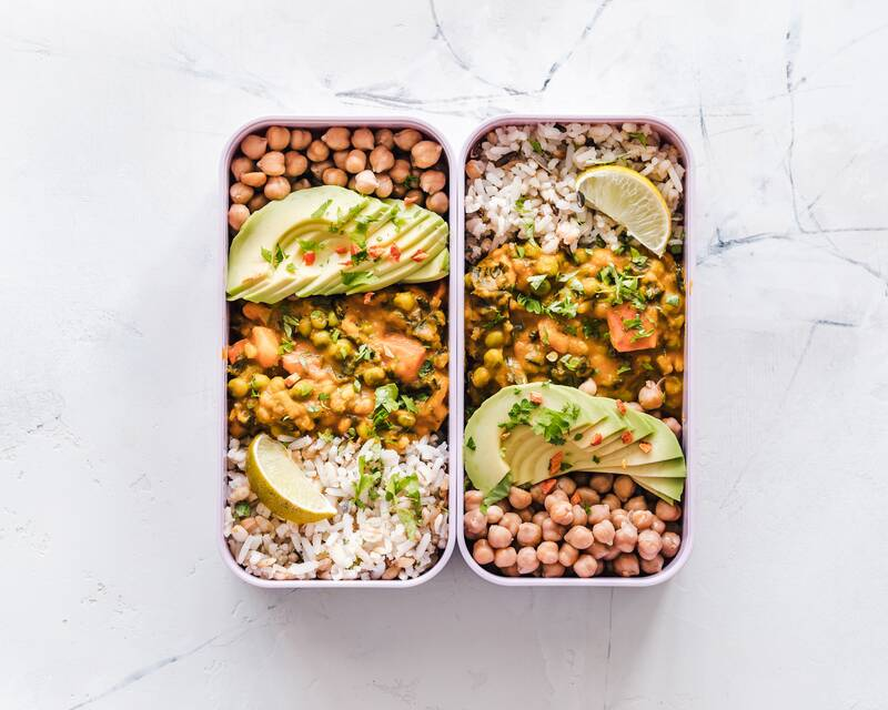 Complete protein vegan curry