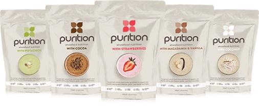 Puriton protein powders